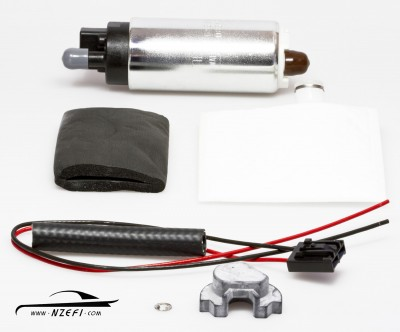 Walbro 500hp In-tank Fuel Pump with Late Subaru Fitting Kit